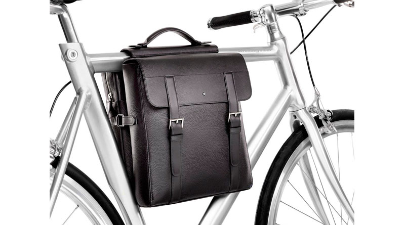 Bolsa Bicycle Pannier de Montblanc bolsa en bici 2 Luxabun