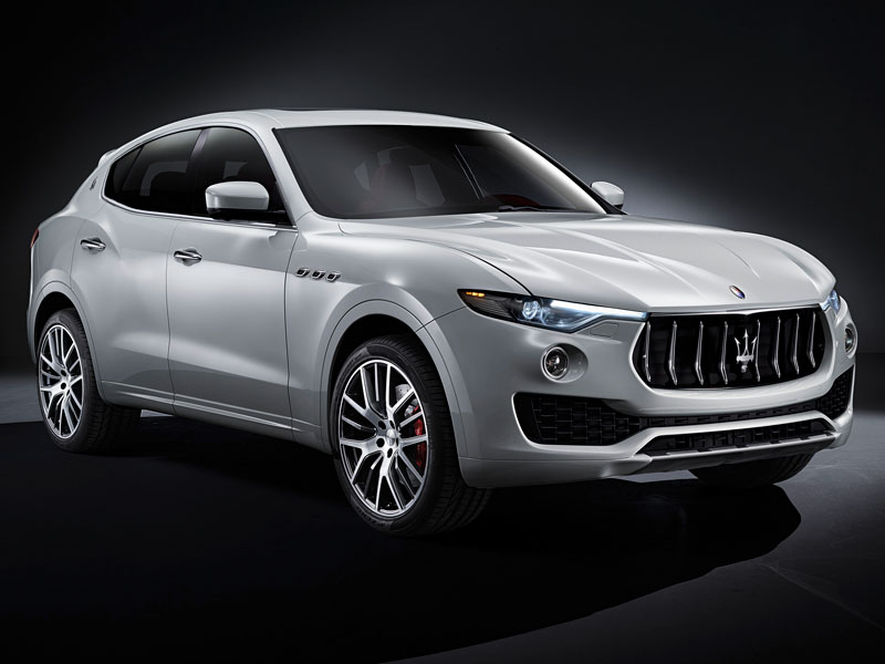 Maserati Levante frontal derecho Luxabun