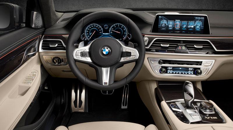 BMW M760Li xDrive interior Luxabun