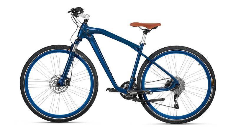 Cruise bike de BMW azul izquierda Luxabun
