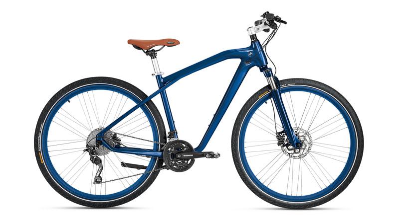 Cruise bike de BMW azul derecha Luxabun