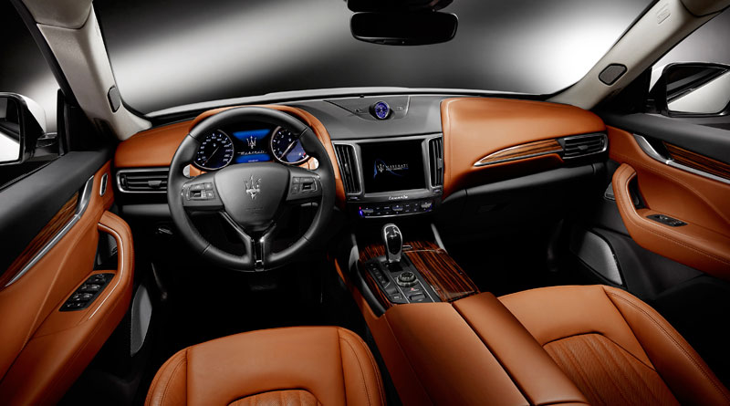 Maserati Levante S interior Luxabun