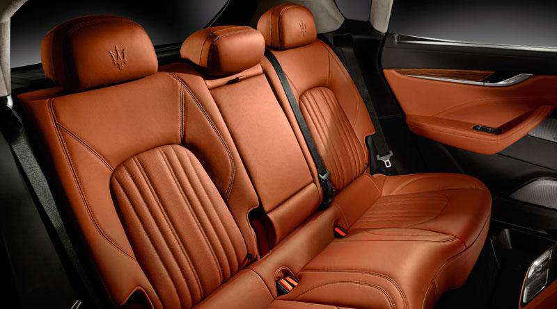 Maserati Levante S interior asientos Luxabun