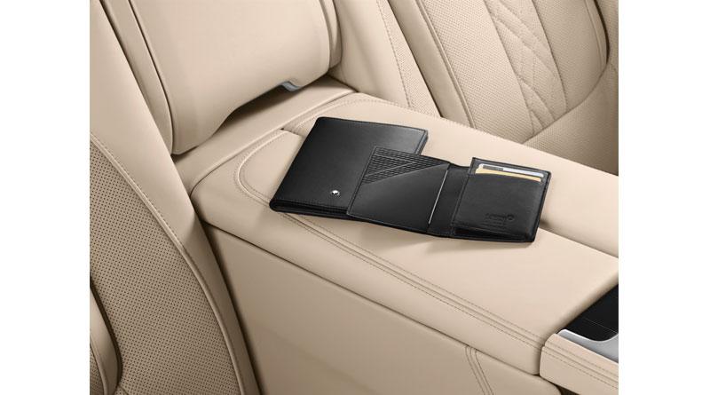 Montblanc para BMW 7 Series carteras interior Luxabun