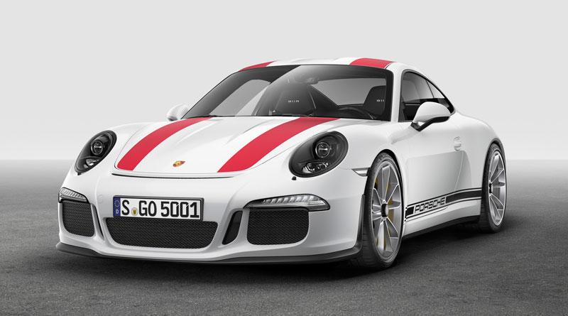 Porsche 911 R 2016 frontal Luxabun