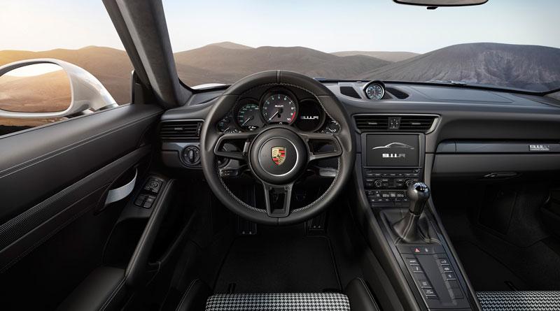 Porsche 911 R 2016 interior volante Luxabun