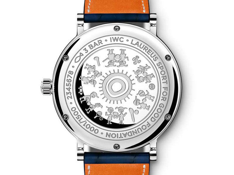 """Reloj Portofino Edición """"Laureus Sport for Good"""" caja trasera - Luxabun"""