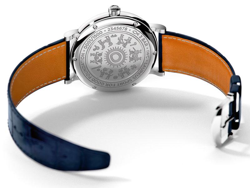 Reloj Portofino Edición Laureus Sport for Good caja - Luxabun