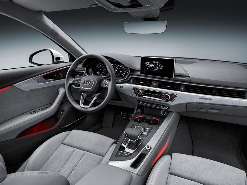 Audi A4 Allroad quattro interior Luxabun