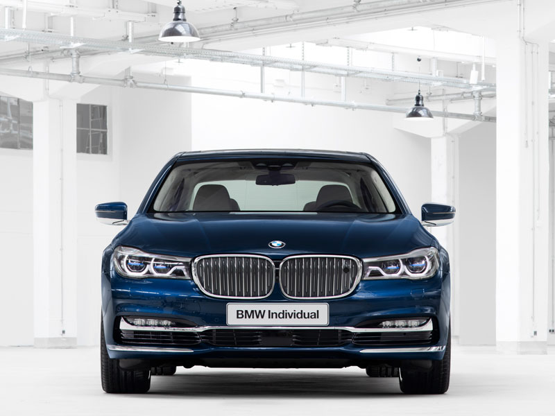 BMW Serie 7 Individual The Next 100 Years frontal Luxabun