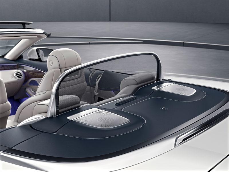 Mercedes S 500 Cabriolet corta vientos Luxabun
