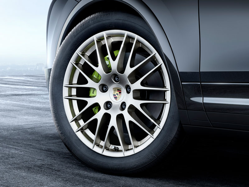 Porsche Cayenne S E-Hybrid Platinum Edition llantas Luxabun