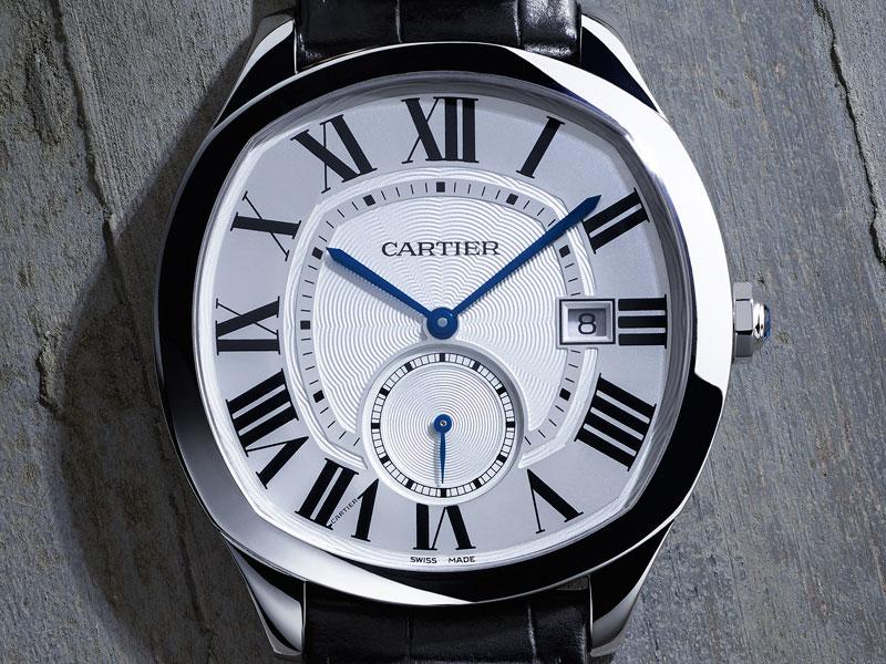 Cartier Drive Acero caja - Luxabun