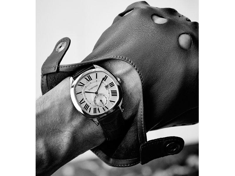 Cartier Drive Acero  lifestyle - Luxabun