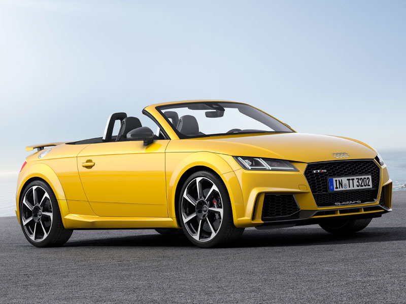 Audi RS TT Roadster interior lateral Luxabun