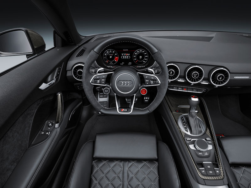 Audi RS TT Roadster interior volante Luxabun