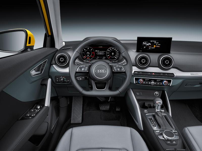 SUV Audi Q2 2.0 TDI quattro interior Luxabun