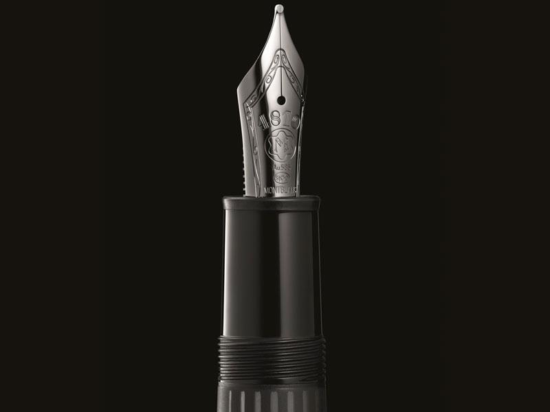 Montblanc Meisterstück Ultrablack Luxabun plumín