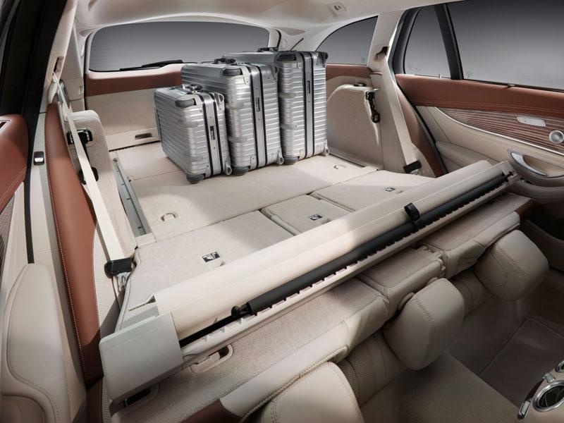 Mercedes Clase E 350D Estate asientos abatidos Luxabun