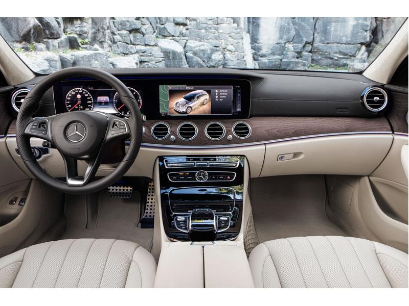Mercedes Clase E All Terrain interior Luxabun