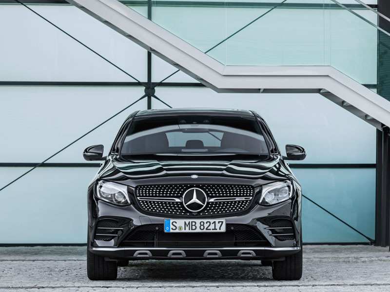 Mercedes GLC Coupé 43 AMG 4MATIC frontal Luxabun