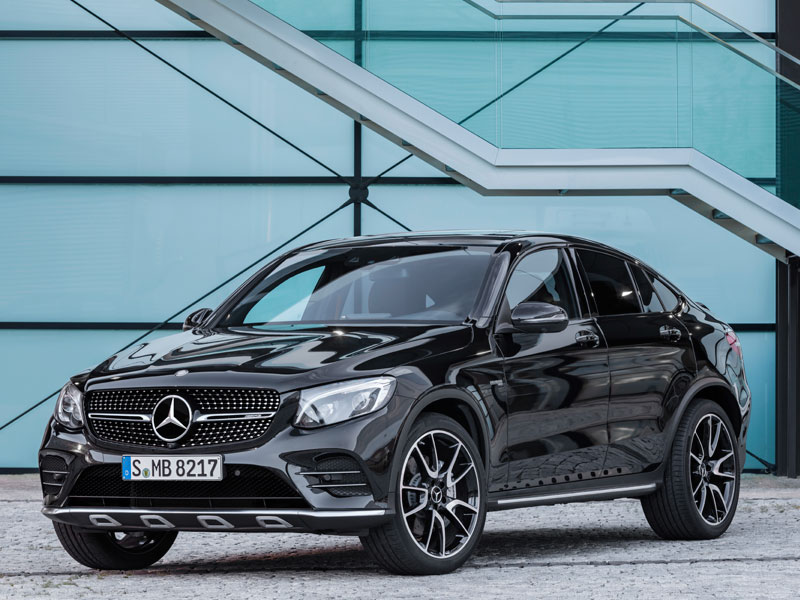 Mercedes GLC Coupé 43 AMG 4MATIC lateral Luxabun