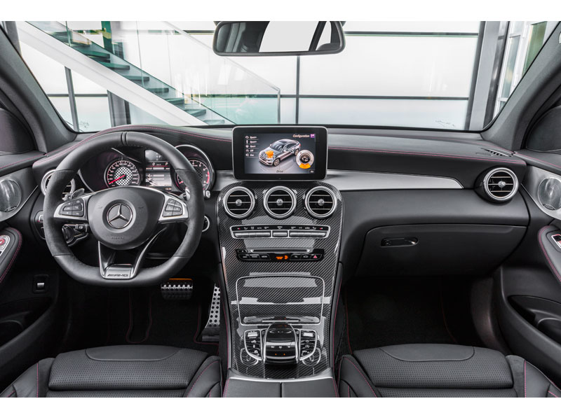Mercedes GLC Coupé 43 AMG 4MATIC interior Luxabun