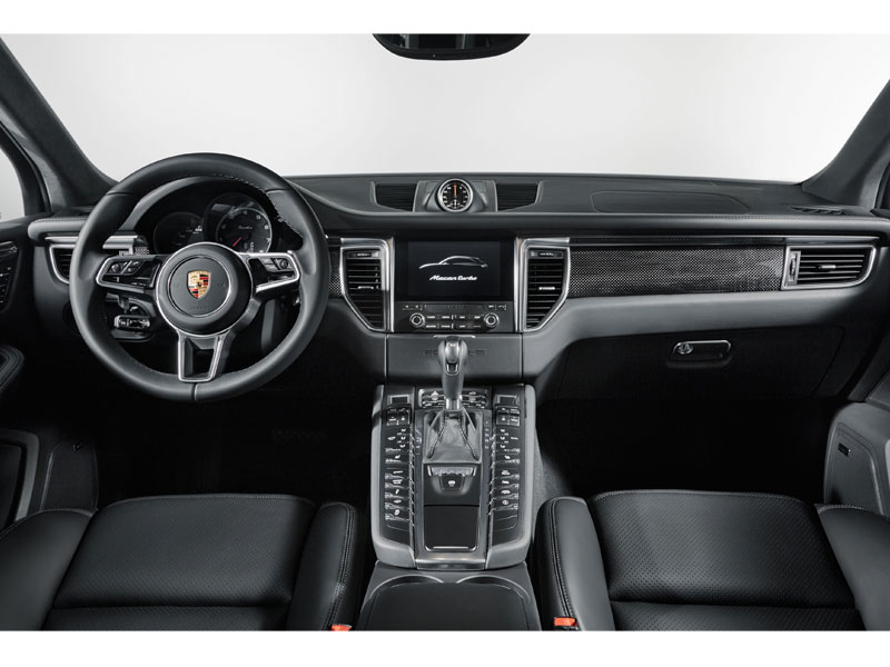 Porsche Macan Turbo performance package interior Luxabun