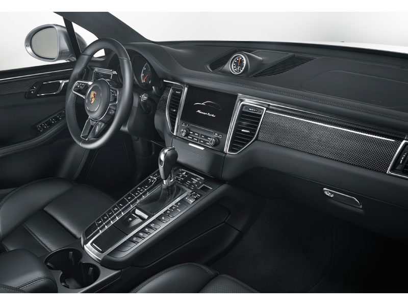 Porsche Macan Turbo performance package interior acompañante Luxabun