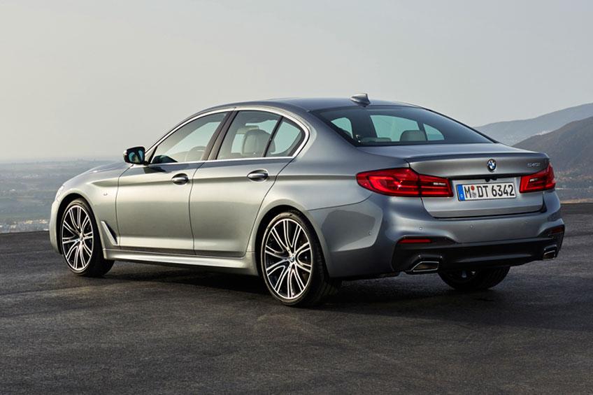 Nuevo BMW Serie 5 2017 trasera Luxabun