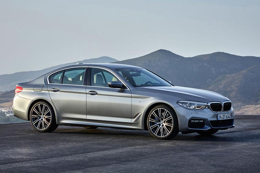 Nuevo BMW Serie 5 2017 lateral Luxabun