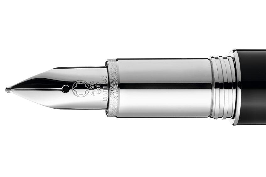 Montblanc estilográfica StarWalker Urban Spirit Luxabun plumín detalle