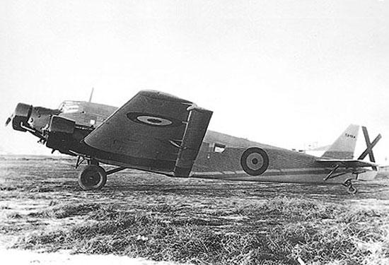 Junkers JU52 Luxabun
